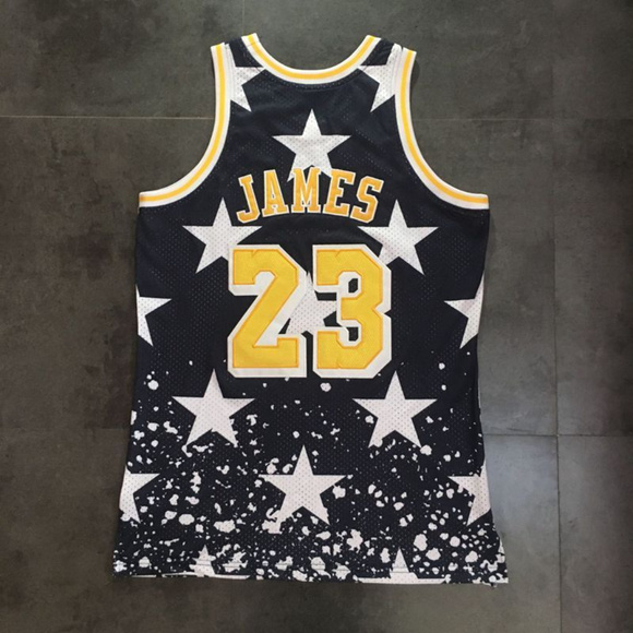 eb046ed55 Nike Shirts | Lebron James La Lakers Independence Day Jersey | Poshmark